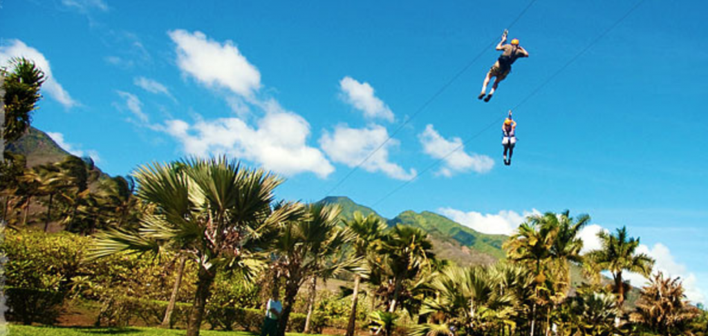 Maui Zip Lining Tours | Paradise Activities | Maui Resorts