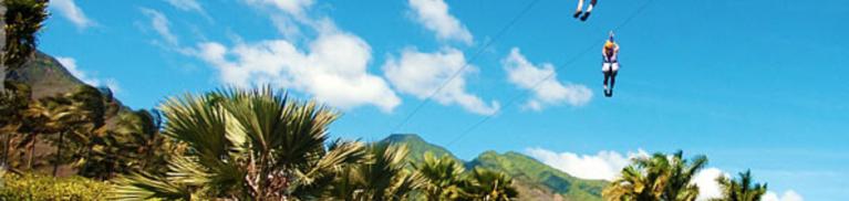 Maui Zip Lining Tours | Paradise Activities | Maui Resorts